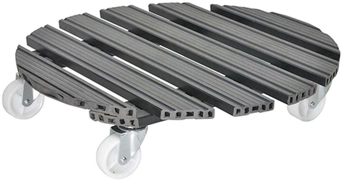 Krukvagn Multi Roller, Ø50 cm, Grå