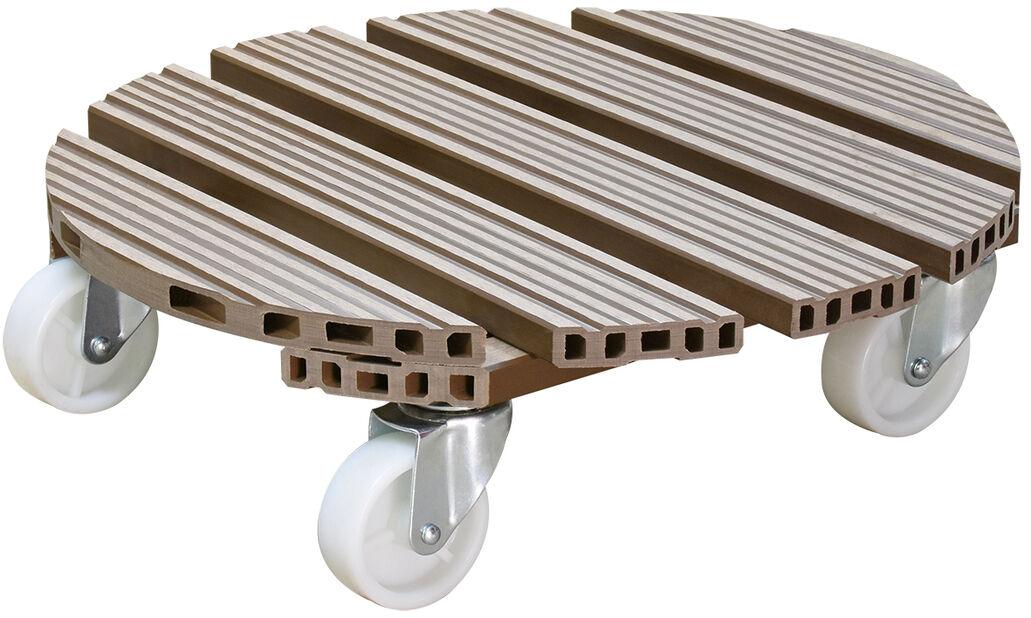 Krukvagn Multi Roller, Ø38 cm, Brun
