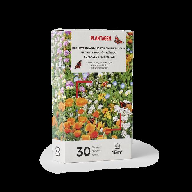 Blomstermix för fjärilar, 15 kvm, Flerfärgad