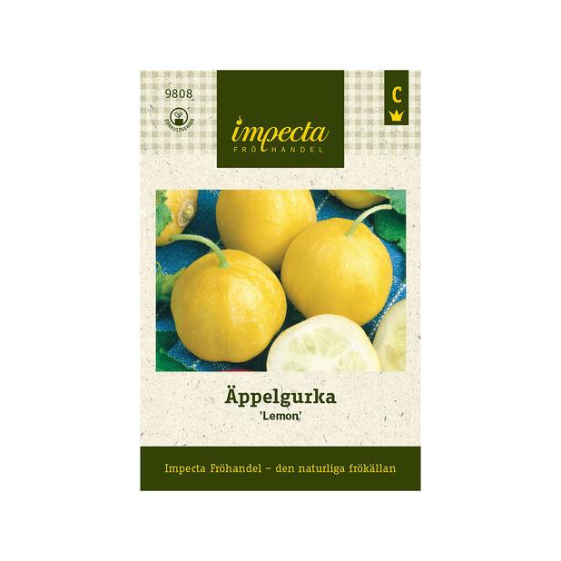 Äppelgurka 'Lemon', Gul