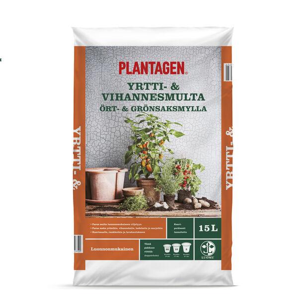 Pl. Ört- och grönsaksjord 15 l