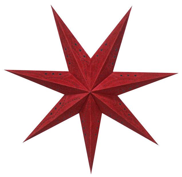 Julstjärna Sofie, Längd 60 cm, Röd