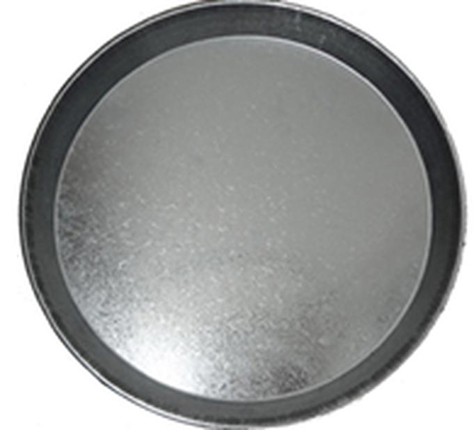 Fat Zink 30 cm rund grå
