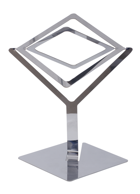 Airplants-hållare Sam, Ø15 cm, Silver