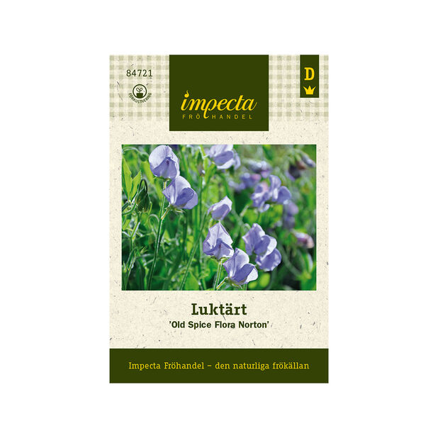Luktärt 'Old Spice Flora Norton', Blå
