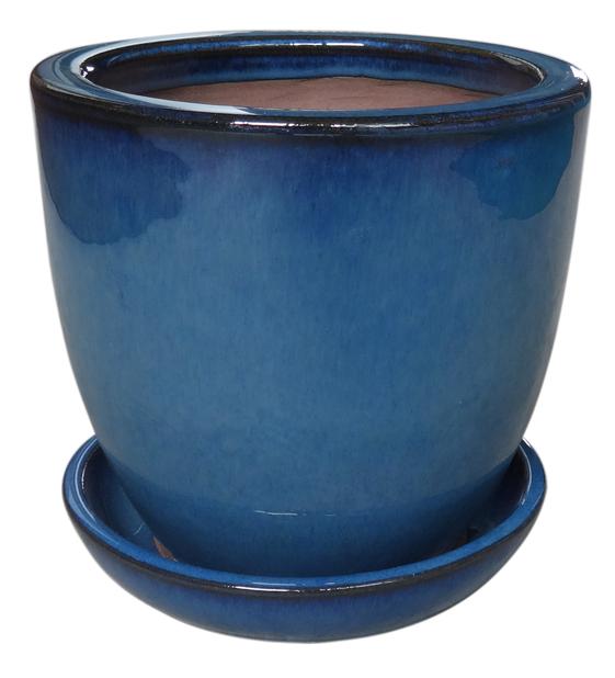 Somerton 25 cm blå