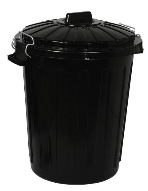 Avfallskärl, 70 L, Svart