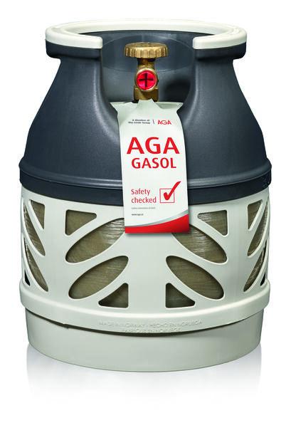 Aga Propane For Composite Bottle 5Kg, 5 kg