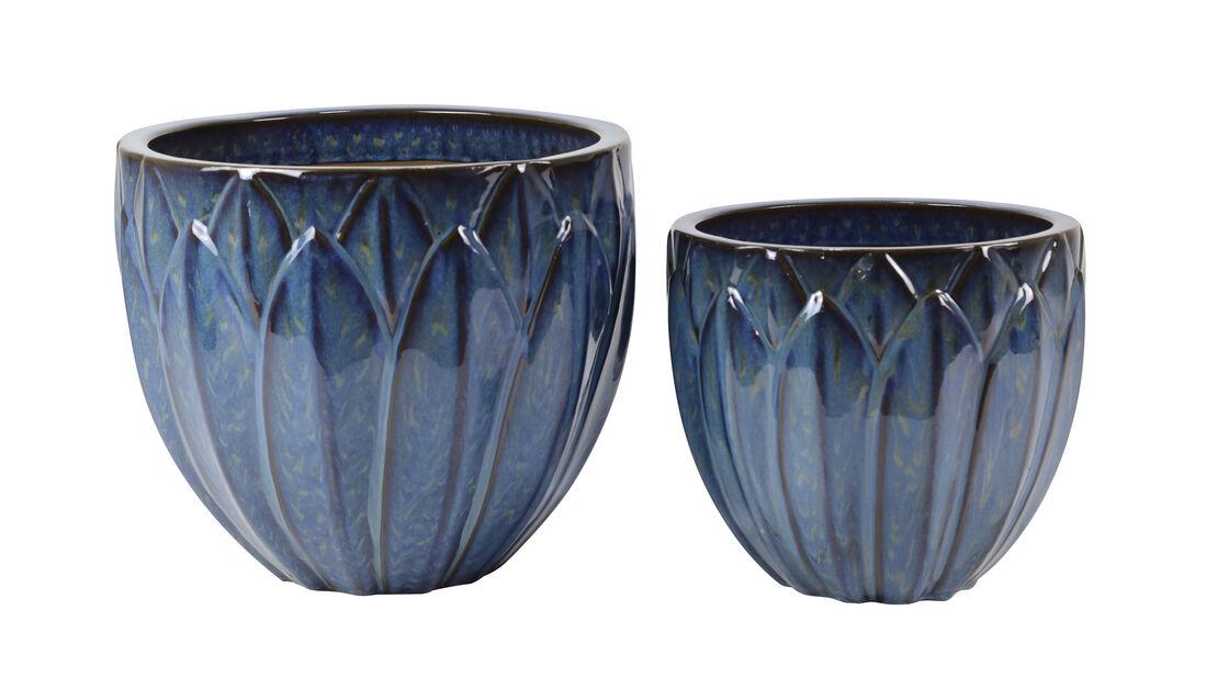Kruka Leah, Ø37 cm, Blå