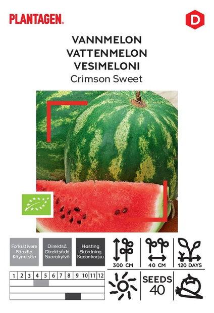 Vattenmelon 'Crimson Sweet'