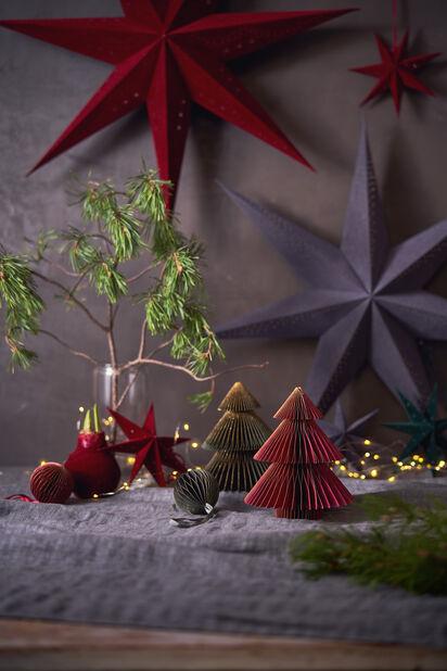 Julstjärna Sofie, Längd 75 cm, Röd