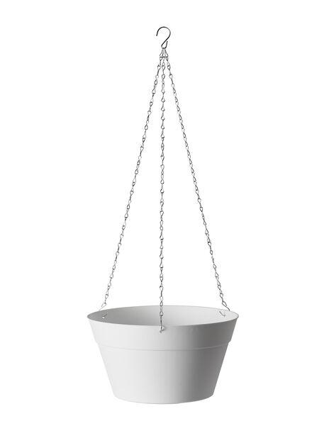 Ampelkruka Felicia, Ø30 cm, Vit
