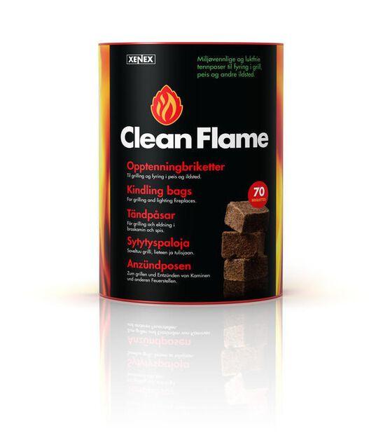 Braständare 100-p Clean Flame