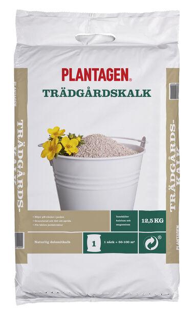 Trädgårdskalk, 12.5 kg, Brun