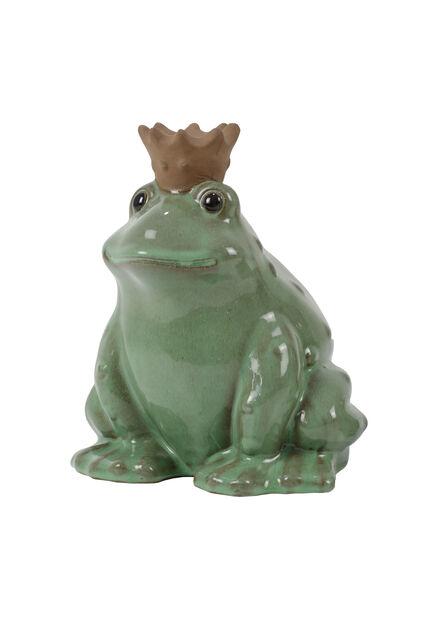 Dekoration groda , Höjd 24 cm, Grön