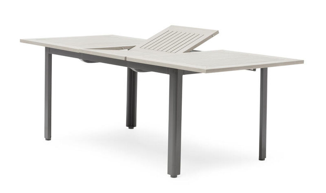 Matbord Lyon 90x150-200 cm, grå