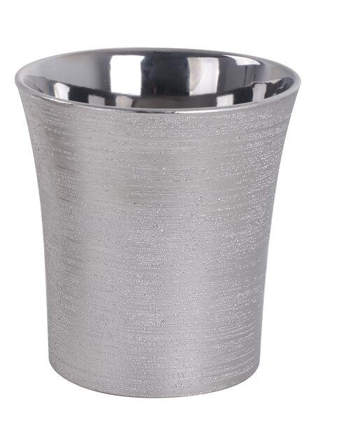 Kruka Agda, Ø13 cm, Silver