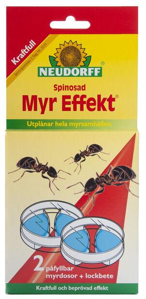 Myr Effekt dosor, 40 kvm
