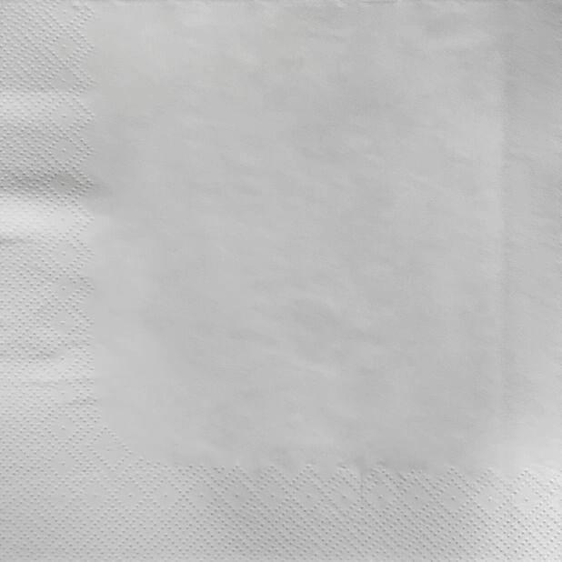 Servetter, Höjd 40 cm, Vit
