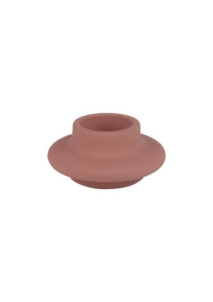 Värmeljushållare Frida, Höjd 5 cm, Rosa