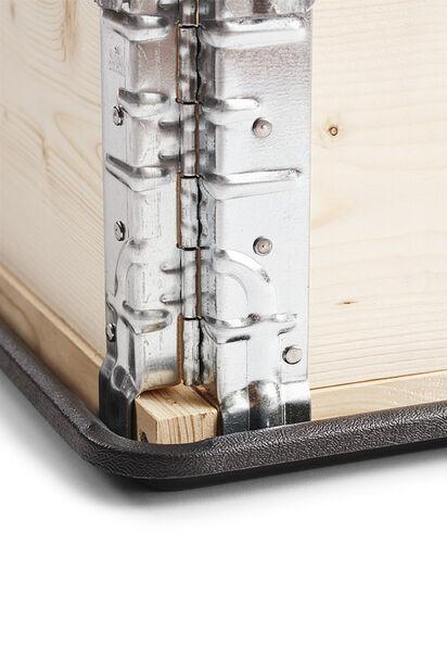 Bricka till pallkrage, Längd 60 cm, Svart