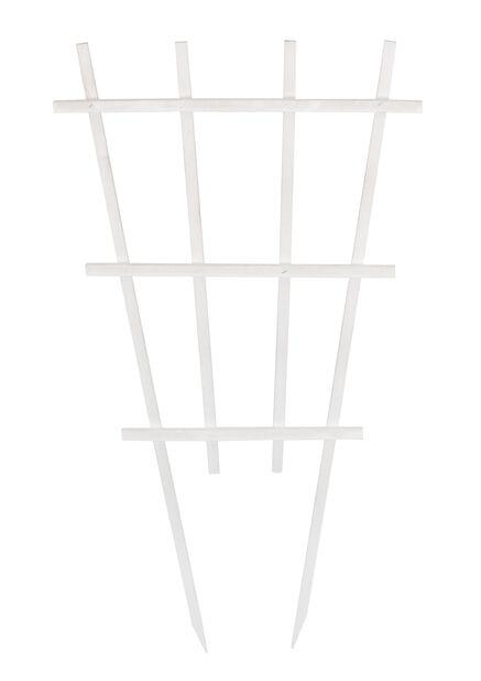 Spaljé för kruka, Höjd 55 cm, Vit