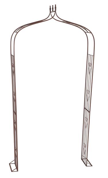 Rosportal, Höjd 240 cm, Rost