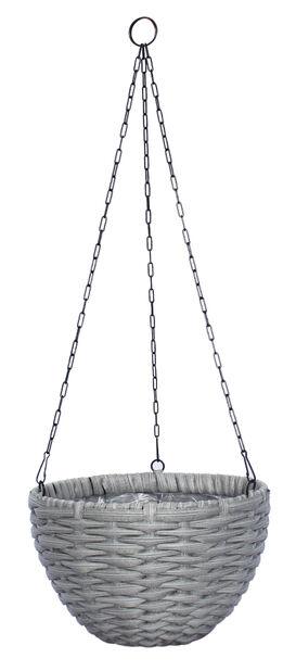 Ampelkruka Frankfurt, Ø30 cm, Grå
