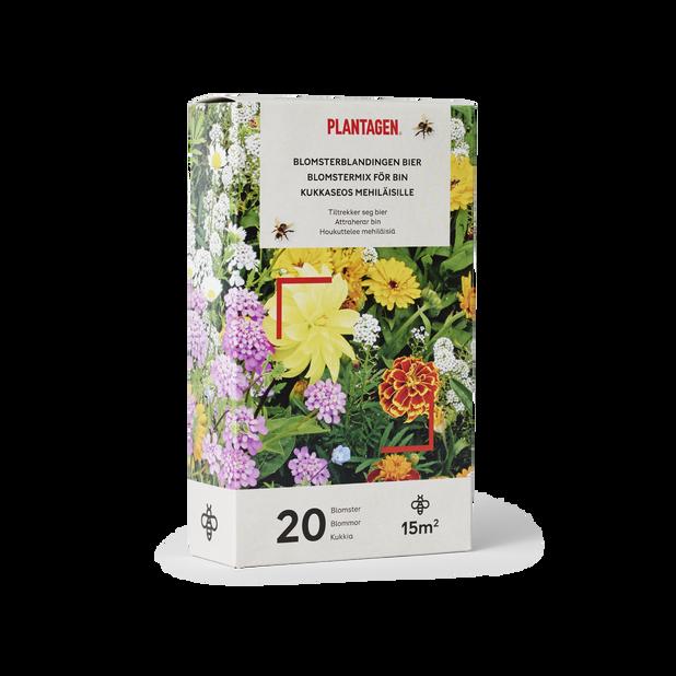 Blomstermix för bin, 15 kvm, Flerfärgad