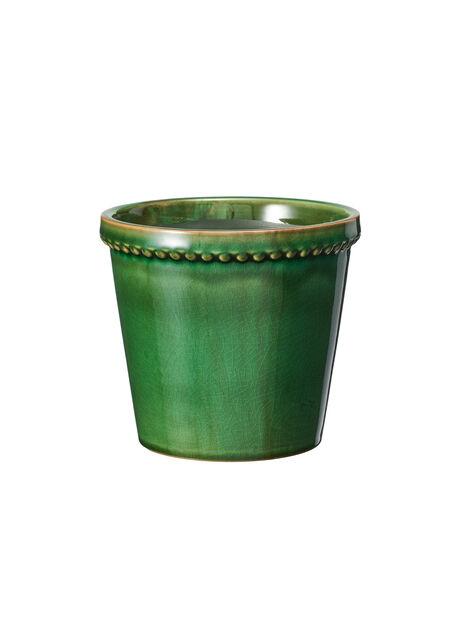 Kruka Elliot, Ø13 cm, Grön