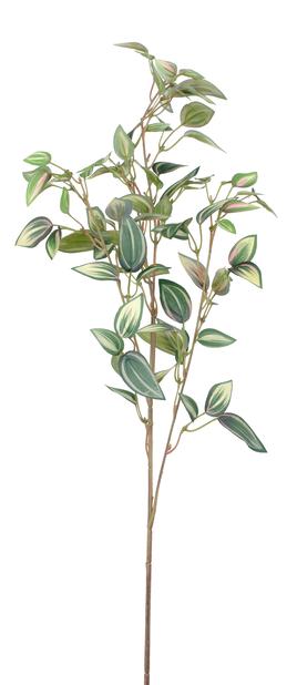 Zebrina konstgjord kvist, Höjd 76 cm, Grön