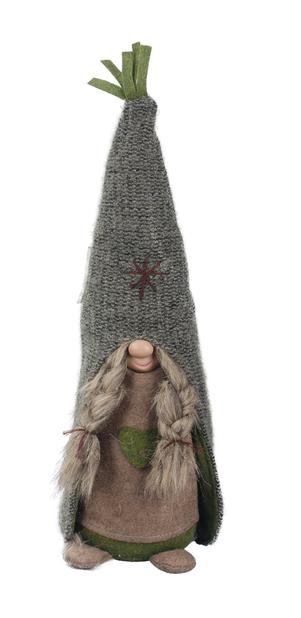 Tomtemor Birta, Höjd 42 cm, Grön