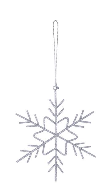 Julgranspynt Snowflake 11 cm