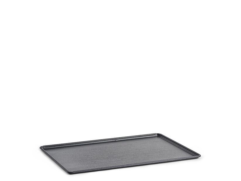 Bricka till pallkrage, Längd 120 cm, Svart