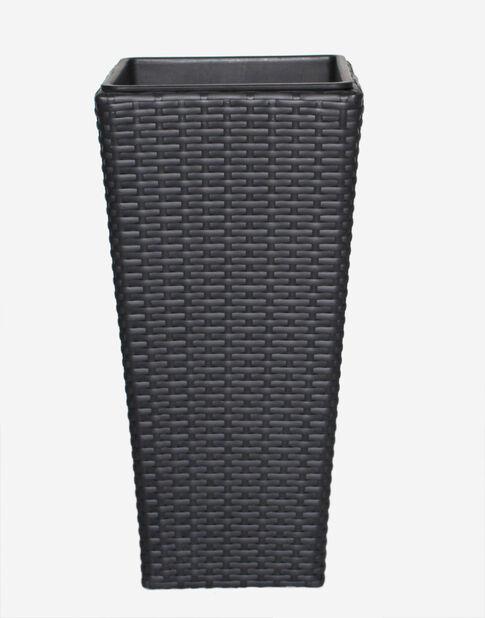 Kruka New York, Höjd 54 cm, Svart