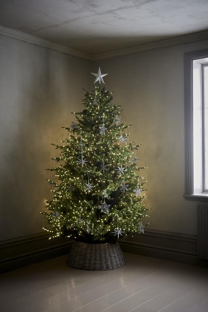 Korg till julgransfot, Ø63 cm, Beige