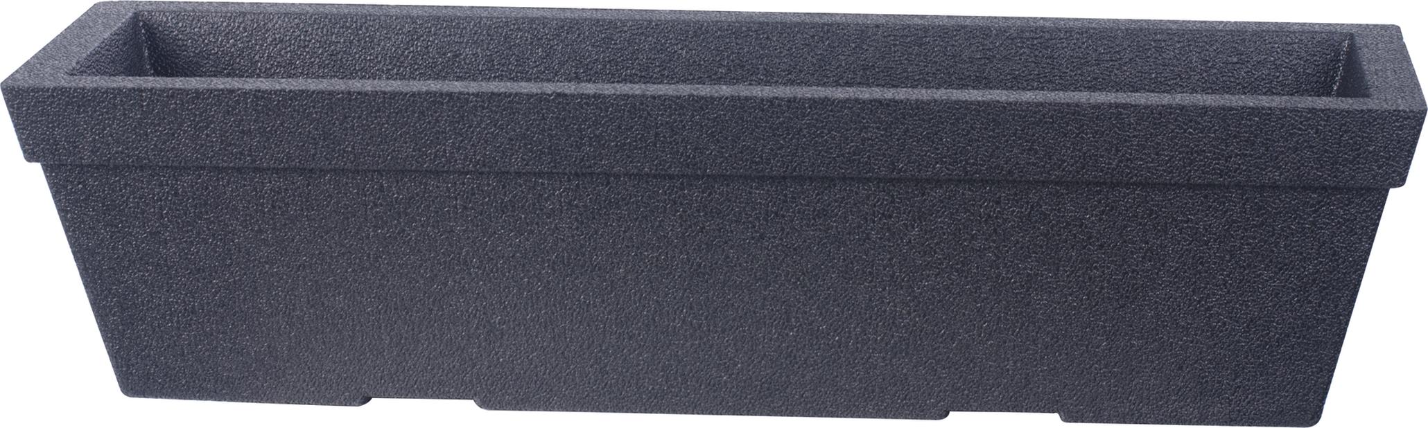 Balkonglåda Milla, Ø76 cm, Svart