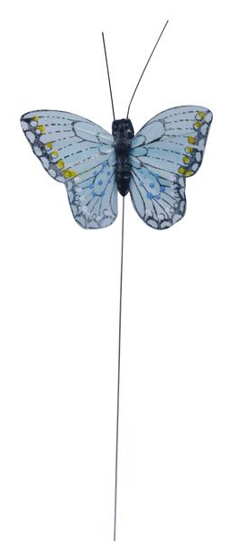 Dekorationspinne fjäril, Höjd 15 cm, Flera färger