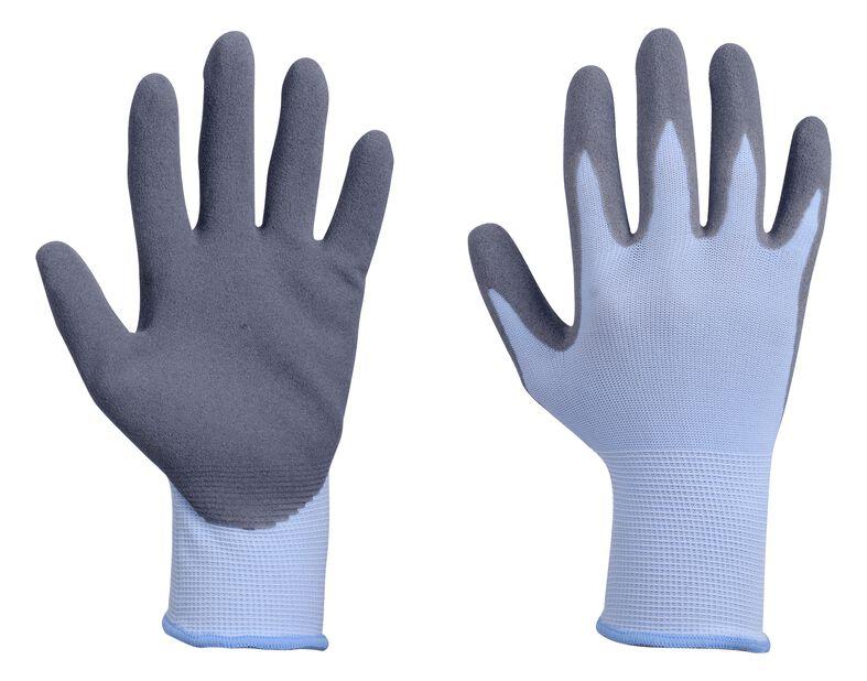 Trädgårdshandske nitril, M, Blå