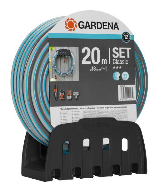 """Slangset med slanghängare 20m 1/2"""" Gardena, 20 ml"""
