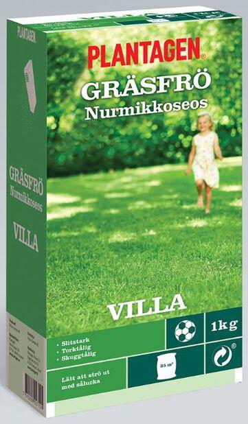 Gräsfrö Villa, 1 kg, Flera färger
