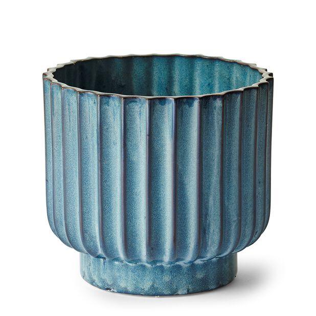 Kruka Zara, Ø17.5 cm, Blå