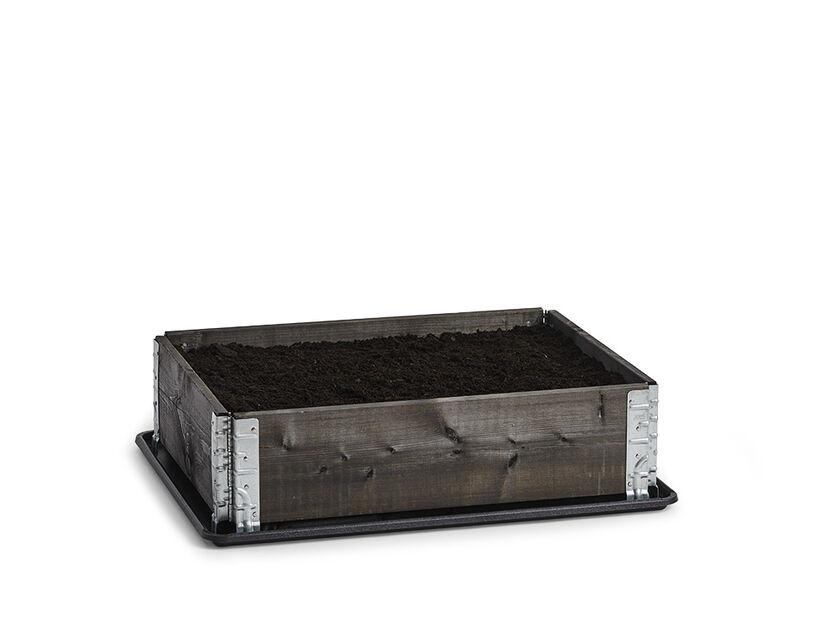 Pallkrage, 80x60 cm, svart