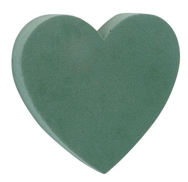 Oasis hjärta, Ø18 cm, Grön