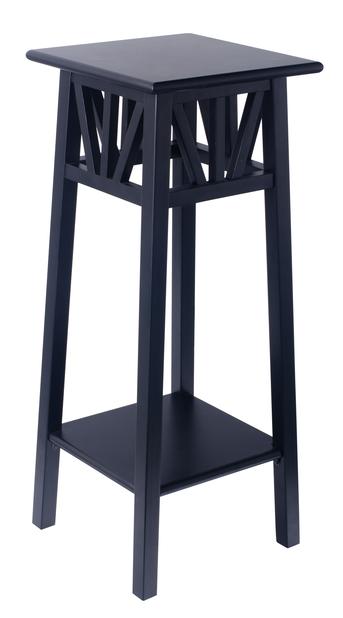 Piedestal Elsa  , Höjd 70 cm, Svart