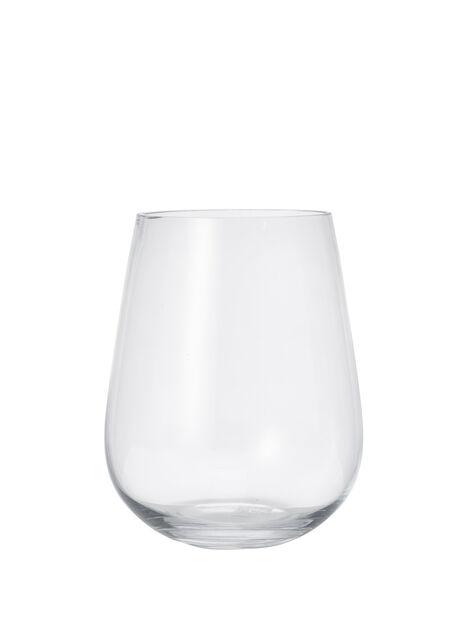Vas Wilma, Höjd 23 cm, Transparent
