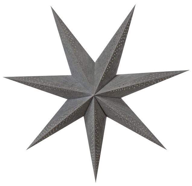 Julstjärna Sofie, Längd 75 cm, Grå