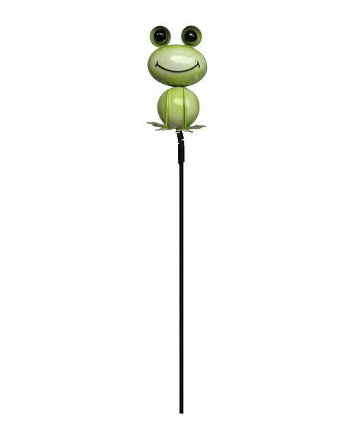 Dekorationspinne groda, Höjd 75 cm, Grön