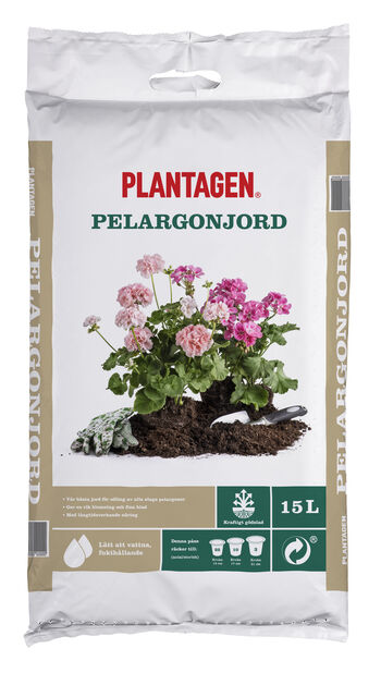 Pelargonjord, 15 L