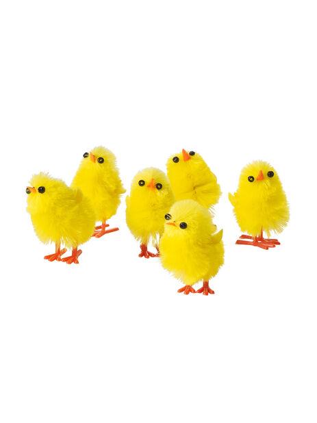 Små Kycklingar, Höjd 3 cm, Flera färger